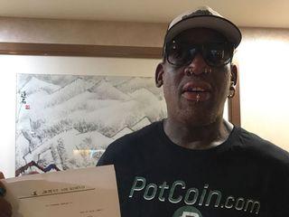 Dennis Rodman returns to North Korea