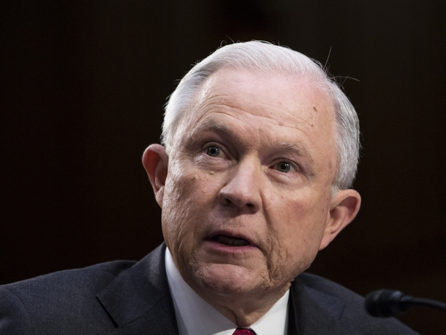 Attorney General Jeff Sessions says he was never briefed on Russian Federation  probe