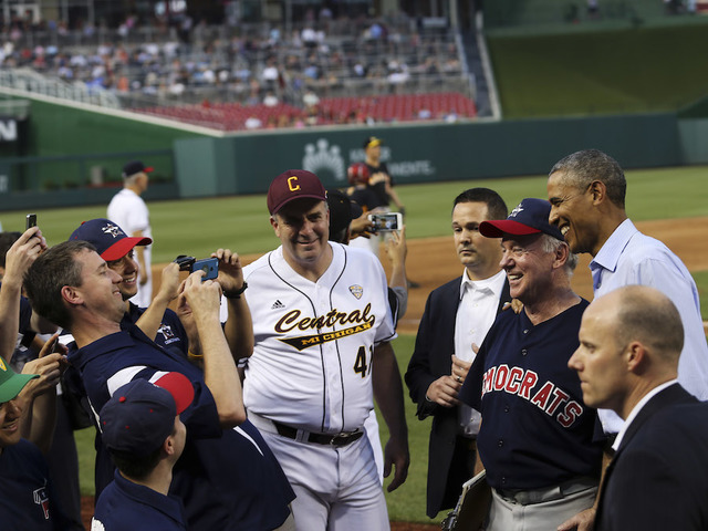 The Congressional baseball game is a long-running, bipartisan tradition