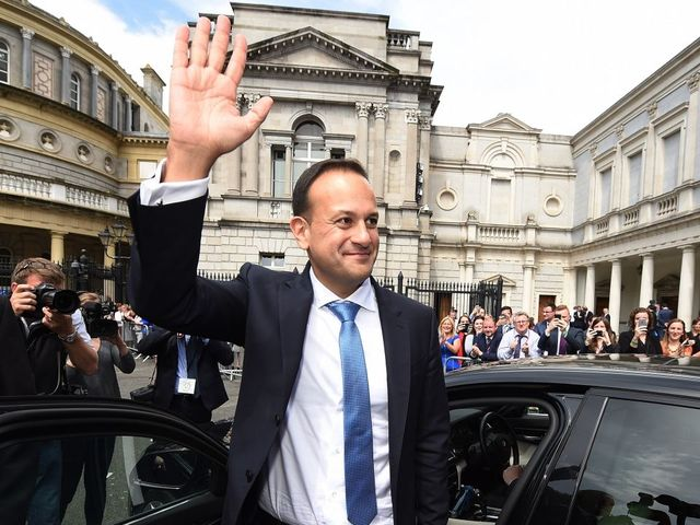 Leo Varadkar, Ireland's First Openly Gay Prime Minister, Officially Takes Office