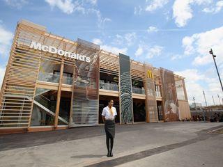 McDonald's leaves Olympics