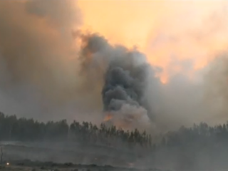 Smoke from several US wildfires affecting Colo.