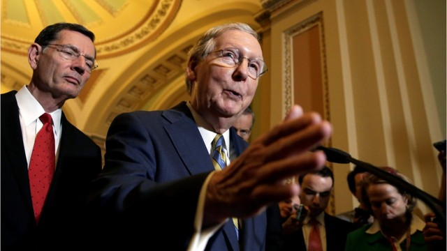 Senate Republicans unveil U.S. health bill - but lack votes to pass it