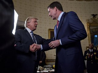 Trump says 'tapes' may have changed Comey story