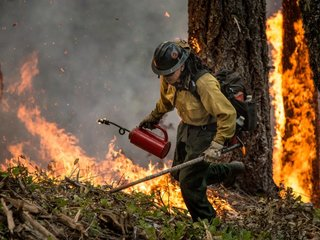 US wildfire costs hit record $2.3B in 2017