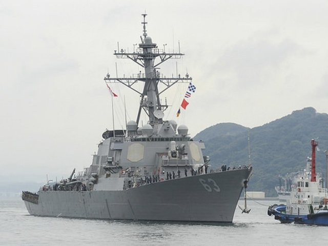 'Provocative operations': US Navy sends warship into South China Sea