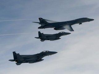 US Air Force sends bombers to Korean Peninsula