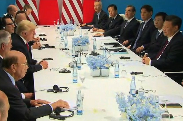 Trump keeps it friendly with Xi at G20