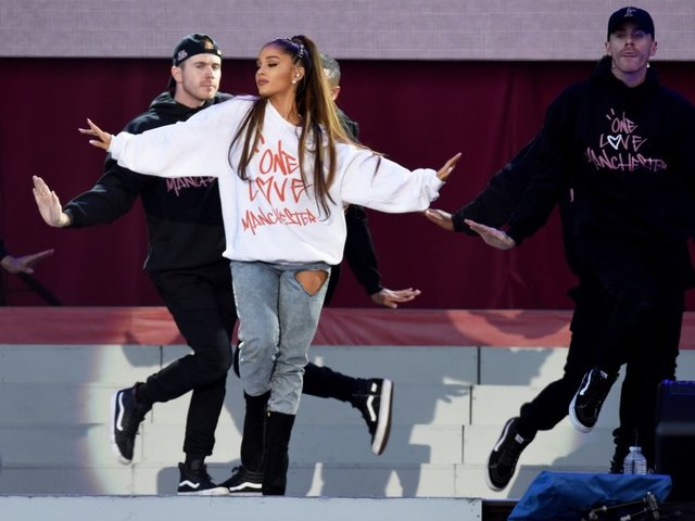 Ariana Grande Officially Named 'Honorary Citizen' of Manchester, England