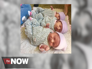 Identical triplets thriving