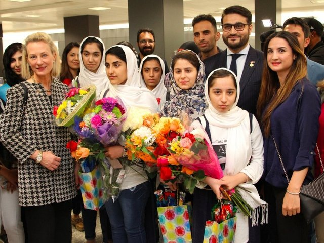 Trump supported us, say Afghan girls after robotics visa U-turn