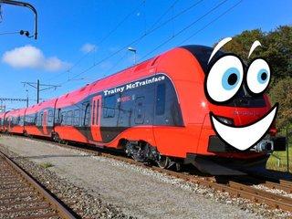 Trainy McTrainface: Public names Swedish train