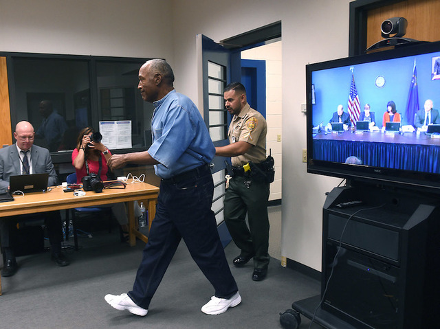 OJ Simpson Attends Parole Hearing