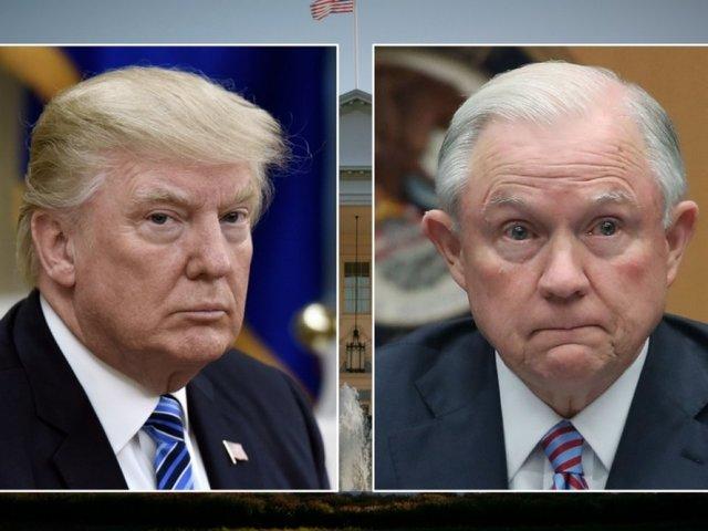 Trump calls Attorney General Sessions 'beleaguered' in tweet