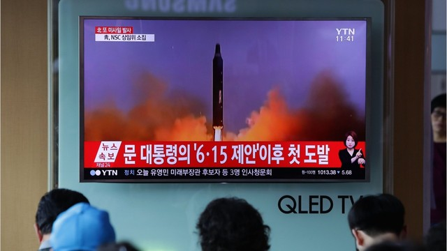 North Korea Launched Another Ballistic Missile