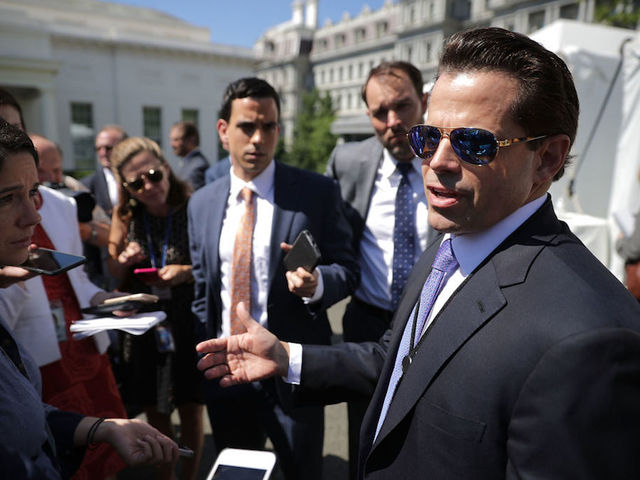 Trump fires White House communications director Scaramucci