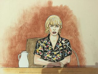 Taylor Swift testifies in sexual assault case