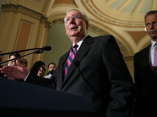Republicans take sides in Trump, McConnell spat