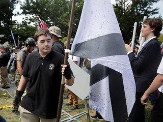 The symbols of white supremacy