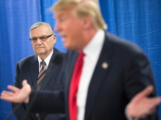 Trump hints he might pardon Joe Arpaio