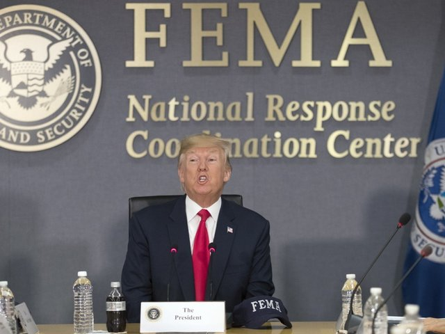 Trump thanks Harvey responders, confirms return to Texas
