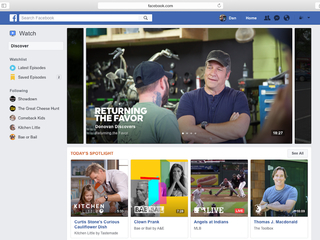 Watching TV through Facebook is now possible