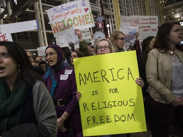 A Lawsuit Over The Trump Administration's Travel Ban Is Settled