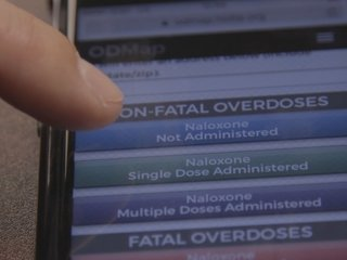 Getting A Fix: Mapping overdoses in real time