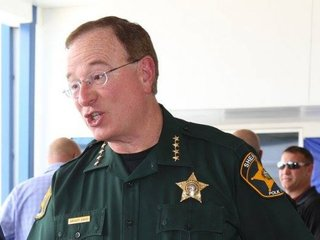 Sheriff sued for warrant checks at Irma shelters