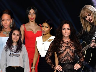 Two women top this week's Billboard Hot 100