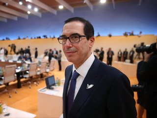 Mnuchin requested government plane for honeymoon