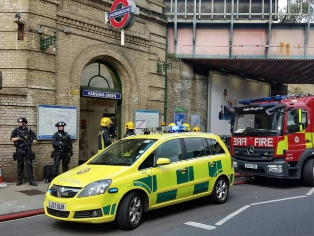 Police Investigating Explosion At London Train Station As Terrorism