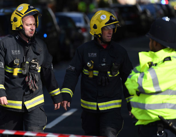 Made bomb injures 22 on London commuter train