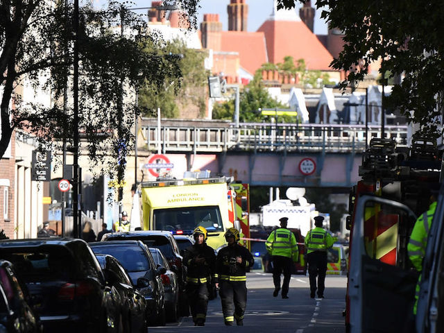 Teenager arrested in connection with London bombing