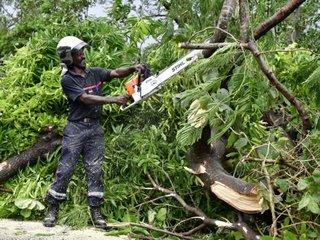 Hurricane Maria makes landfall in Caribbean