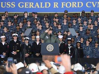 Trump floats idea of grand military parade