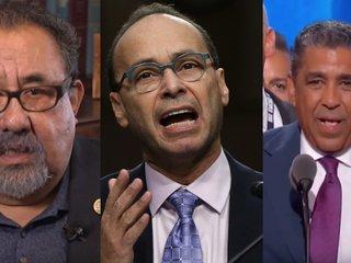 3 congressmen arrested outside Trump Tower