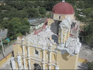 Baptism becomes funeral after Mexico earthquake