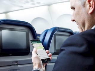 Delta will soon offer free in-flight texting
