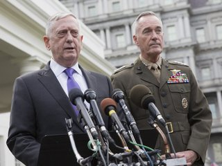 Militant attack just misses Defense Sec. Mattis