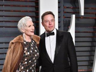 Elon Musk's mom lands CoverGirl deal