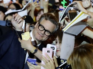 How 'Kingsman' spies took over South Korean fans