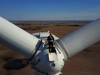 Wind turbine technician fastest-growing US job