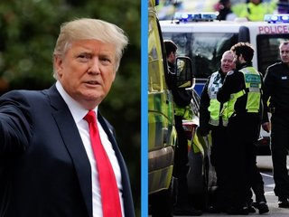 Trump links UK crime stats to terrorism