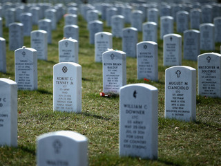 Arlington National Cemetery nearing capacity