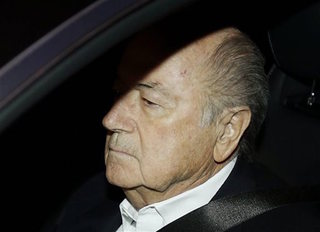 FIFA says payments to Blatter broke law