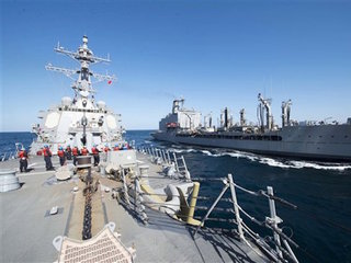 Pentagon: Two Navy boats in Iranian custody