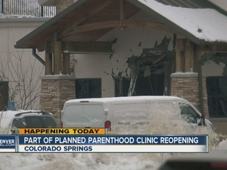 Colorado Planned Parenthood clinic reopens