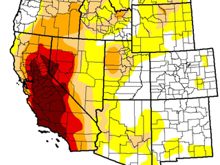 This El Nino won't end the drought after all