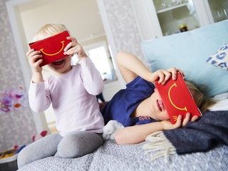 McDonald's Happy Meal boxes turn into VR viewers